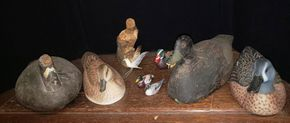 Lot 030 Pay Pal-PU/Lot of Duck Decoys and Shore Bird PICK UP IN MINEOLA,NY