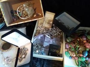 Lot 022 Large Lot Of Costume Jewelry PICK UP IN CEDARHURST