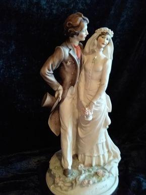 Lot 003 Armani Statue 12.75 Inches Tall PICK UP IN CEDARHURST