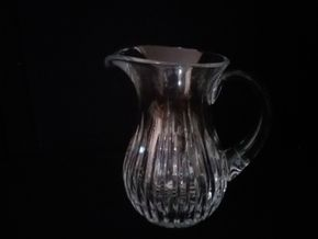 Lot 046 Waterford Water Pitcher 8.25 Inches Tall PICK UP IN N BALDWIN