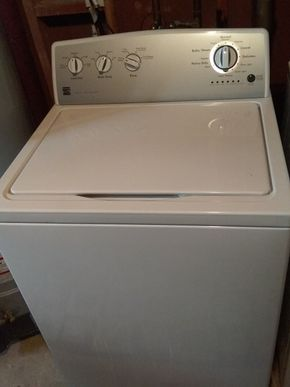 Lot 015 Triple Action Agitator Washing Machine PICK UP IN GLEN COVE