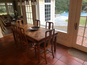 Lot 004 Wood Table and Chairs PICK UP IN PORT WASHINGTON
