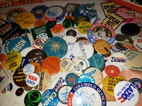 Lot 017 Lot of Punch Magazines -Miscellaneous Pins