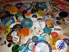 Lot 017 Pay Pal-PU/Lot of Punch Magazines -Miscellaneous Pins