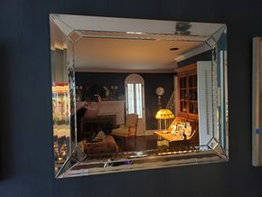 Lot 015 PU/Pay at Tag Sale Large Wall Mirror 40H x 48W PICK UP IN EAST ROCKAWAY,NY