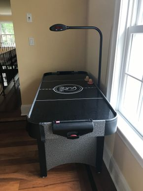 Lot 071 Spartan Sports Air Hockey Table 31H x 25W x 50L PICK UP IN LAWRENCE