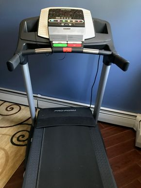 Lot 020 ProForum Pro Shop Elite 2 Treadmill. 6 Feet By 9 Inches Long X 3 Feet X 1 Inches. 375 Pounds And Folds Up. PICK UP IN INWOOD.