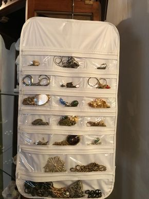 Lot 023 Lot Of Costume Jewelry. PICK UP IN BELLMORE.