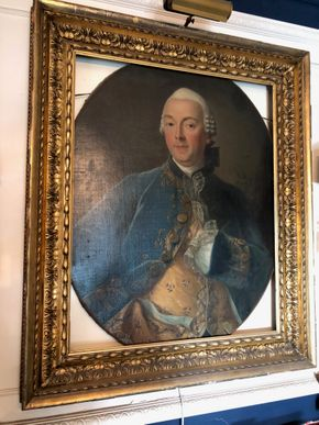 Lot 034 18th century Old Masters Cracklelure Some Restoration 36X42