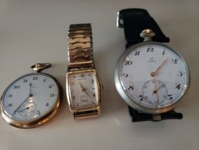 Lot 020 PU/Paying at Tag Sale Lot of 3 Watches  AS IS PICK UP IN EAST ROCKAWAY,NY