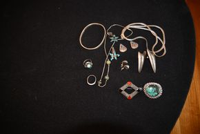 Lot 023 Local Delivery Lot of Sterling Silver Jewelry PICK UP IN PORT WASHINGTON, NY