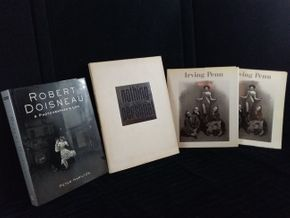 Lot 031 Lot of 4 20thc Photography Books 1 by Richard Avedon, 2 by Irving Penn, 1 by Richard Cesidio