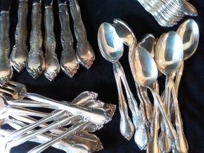 Lot 061 Gorham Sterling Silver Flatware Service for 12 PICK UP IN OLD BROOKVILLE