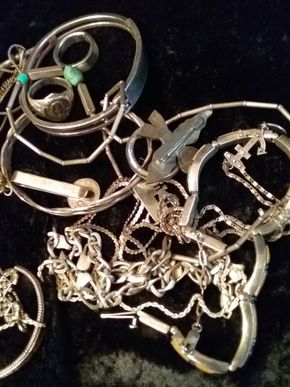 Lot 026 PICK UP Lot of Sterling Silver PICK UP IN HOWARD BEACH