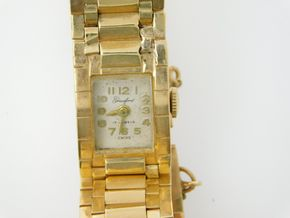 Lot 034 Pick Up /Delivery Ladies 14k Gold Watch PICK UP IN ROCKVILLE CENTRE, NY