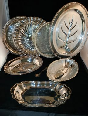 Lot 031 Large Lot of Silver Plate Items PICK UP IN COMMACK,NY