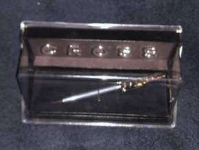 Lot 028 Cross Slate Lacquer with Rhodium Plate Ballpoint Pen