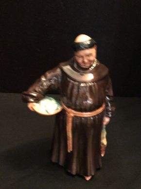 Lot 026 Royal Doulton The Jovial Monk. 7.5 In. T.PICK UP IN BELLMORE.