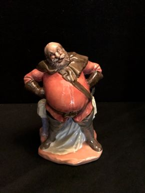Lot 029 Royal Doulton - Falstaff. 6.75 In. T. PICK UP IN BELLMORE.
