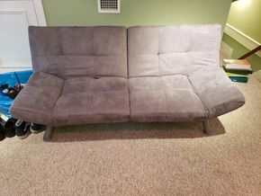 Lot 033 PU/Convertible Sofa 30H x 70W x 30D PICK UP IN GARDEN CITY, NY