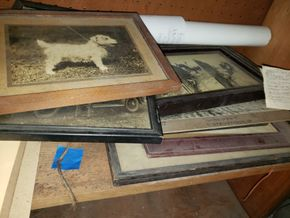 Lot 025 Lot of Assorted Framed Prints including others items Ox Yoke etc.PICK UP IN MINEOLA,NY
