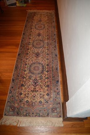 Lot 036 Runner Rug 49L x 25W PICK UP IN ROCKVILLE CENTRE, NY