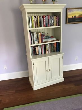 Lot 082 Pottery Barn Book Shelf 68H x 18W x 31L PICK UP IN LAWRENCE