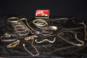 Lot 014 Pick Up Large Lot of  Sterling Jewelry PICK UP IN FLORAL PARK, NY