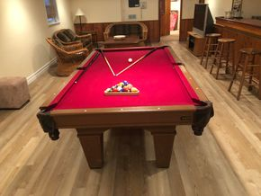Lot 010 Leave Pool Table PICK UP IN PORT WASHINGTON