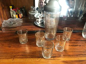 Lot 033 Vintage Barware PICK UP IN BROOKLYN