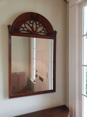 Lot 014 Vintage Mirror 43.5H x 26W PICK UP IN GARDEN CITY, NY