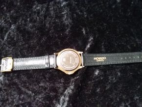 Lot 041 Movado Mens Museum Watch PICK UP IN GARDEN CITY