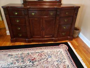 Lot 030 9 Drawer Dresser 38H x 70W x 18L PICK UP IN MALVERNE,NY