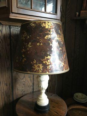 Lot 116 Capodimonte Lamp. 28.5 H. PICK UP IN BELLMORE.