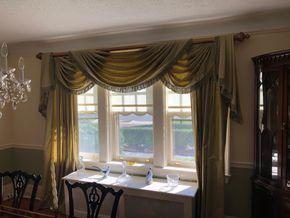 Lot 001 Dining Room Window Treatments