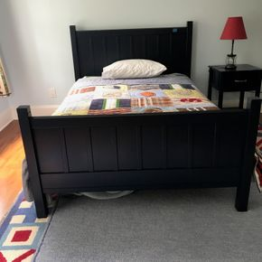 Lot 091 Pottery Barn Full Size Bed    PICK UP IN LAWRENCE
