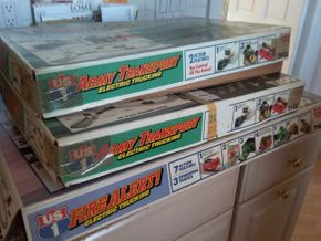 Lot 020 Lot Of 3 Tyco Trucking Company Play Sets PICK UP IN ROCKVILLE CENTRE