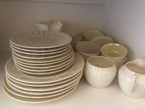Lot 027 PU Lot of Belleek Assorted Pieces PICK UP IN GARDEN CITY