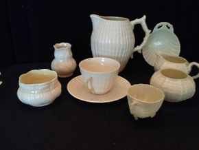 Lot 061 Lot of 9 Belleek Pieces PICK UP IN ROCKVILLE CENTRE