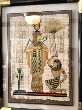Lot 093 Lot Of Egyptian Picture and King Tut Wall Hanging PICK UP IN NORTH MASSAPEQUA