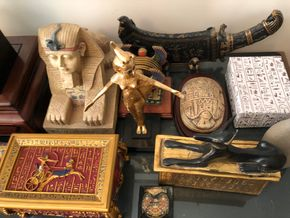 Lot 092 Lot of Assorted Egyptian Decorative Items PICK UP IN NORTH MASSAPEQUA