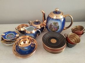 Lot 063 Lot Of German and Swedish Tea sets PICK UP IN MANHASSET