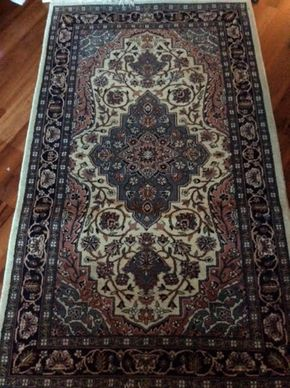 Lot 029 Handmade Rug 3 X 5 PICK UP IN LOCUST VALLEY