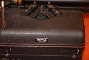 Lot 034 Royal Typewriter (Not Tested -