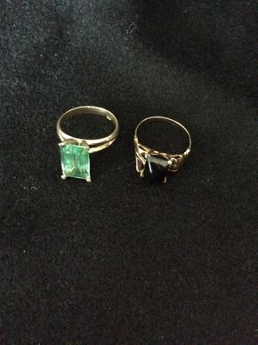 Lot 009 Lot Of 2 14K Rings PICK UP IN WEST HEMPSTEAD