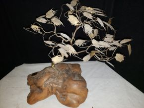 Lot 018 West Wind Sculpture an original by Charles Fischer 1971 PICK UP IN MINEOLA,NY