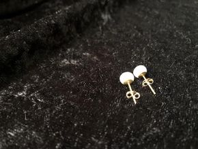 Lot 039 Gold and Pearl Earrings PICK UP IN GARDEN CITY