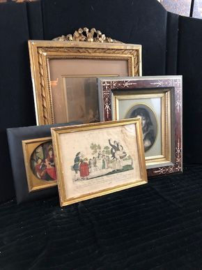 Lot 156 Lot of 4 Assorted Prints 12x9,12x9,6x6,8x10