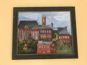 Lot 075 Signed Oil On Canvas 16x20 PICK UP IN LAWRENCE