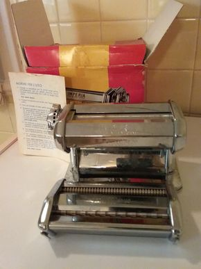 Lot 008 Imperia Italian Pasta Maker PICK UP IN WESTBURY
